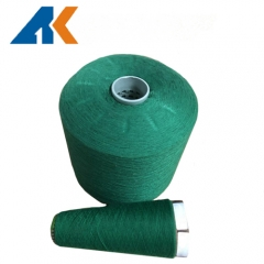 10s/1 dyed polyester yarn