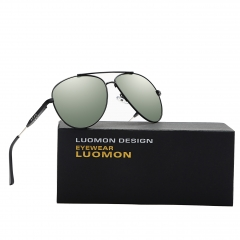 Polarized Aviator Sunglasses LM1573 (62-17-130)
