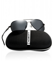 Polarized Mirrored Aviator Sunglasses LM007 (63-13-129)