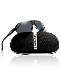 Polarized Shield Sunglasses LM061 (62-21-142)