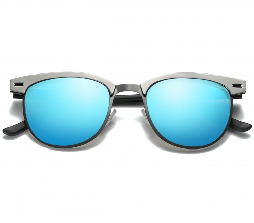 Polarized Browline Sunglasses LM017 (48-20-149)