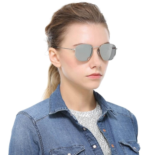 Polarized Mirrored Sunglasses LM3548 (50-22-135)