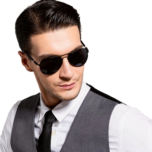 Polarized Aviator Sunglasses MB209 (58-23-125)