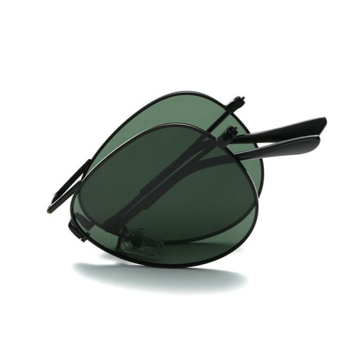Polarized Folding Aviator Sunglasses LM3025 (60-20-141)