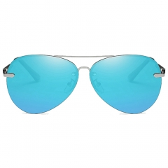 Polarized Aviator Sunglasses LM743 (63-18-139)