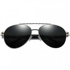 Polarized Aviator Sunglasses LM116(55-20-138)