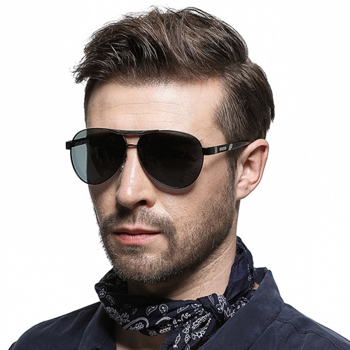 Polarized Aviator Sunglasses LM4269 (60-20-146)