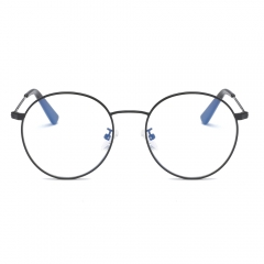 Fashion Artsy Round Eyeglasses EG5805 (55-22-138)