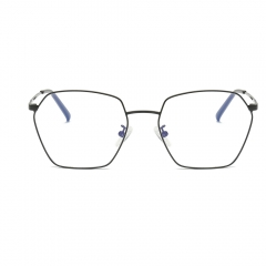 Fashion Artsy Polygon Alloy Eyeglasses EG5817 (55-18-138)