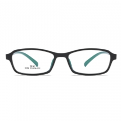 Fashion Artsy Rectangle TR90 Eyeglasses EG8169 (51-16-132)
