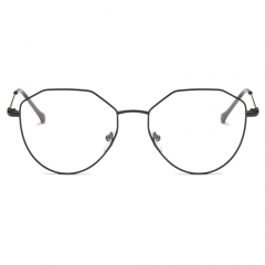 Fashion Artsy Polygon Eyeglasses EG9719 (51-18-138)