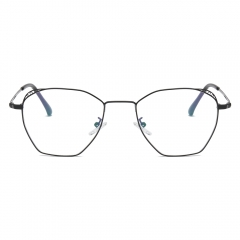 Fashion Artsy Polygon Eyeglasses EG18015 (53-18-140)