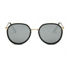 Fashion Oversized Round Sunglasses LM3741 (68-13-132)