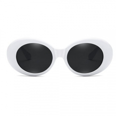Clout Goggles Oval Retro Sunglasses Round Lens LM190 (75-30-125)