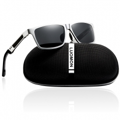 Polarized Mirrored Sunglasses LM031 (59-23-130)