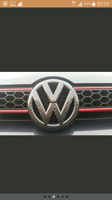 Golf 6 7 Scirocco Front Logo And Rear Boot Emblem And Side
