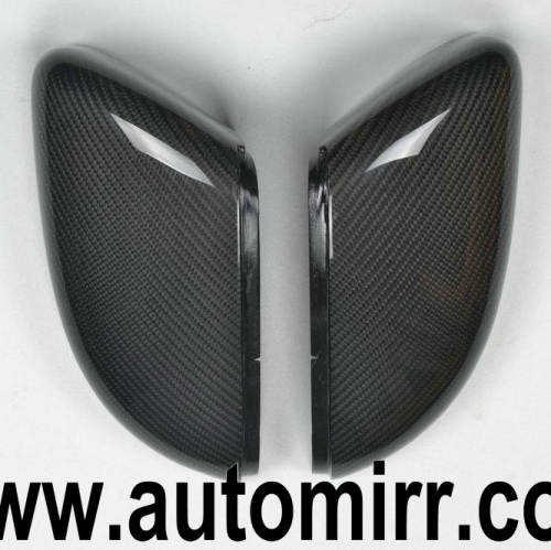 Golf MK6 Touran Carbon Fibre Side Wing Mirror Cover Caps replacement one pair fit VW Golf GTI 6 R20