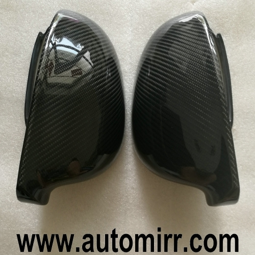 Golf MK5 Carbon Fiber Side Wing Mirror Covers Caps Case Replacement Fit VW Golf GTI 5 Sharan trim Golf Plus Variant