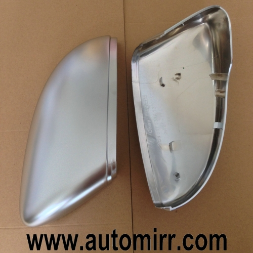 VW Scirocco Jetta MK6 Matte chrome silver Side Wing Mirror Cover Caps replacement one pair fit VW CC Passat B7 Beetle