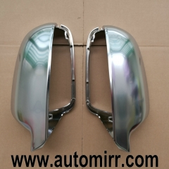 2013 Audi A4 A5 S5 B8.5 Side Wing Mirror Covers caps aluminum Brushed Silver Matte Chrome fit Audi A3 8P Replacement RS5 RS4