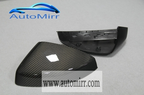 Audi A3 S3 8V Carbon Fiber Side Wing Mirror Cover Caps Replacement Fit Audi A3 S3 2014 2015 2016 2017 car accessory external exterior trim