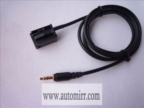 Opel AUX input adapter cable CD30 MP3 CDC40 opera CD70 NAVI DVD90 NAVI 3.5mm auxiliary interface cable
