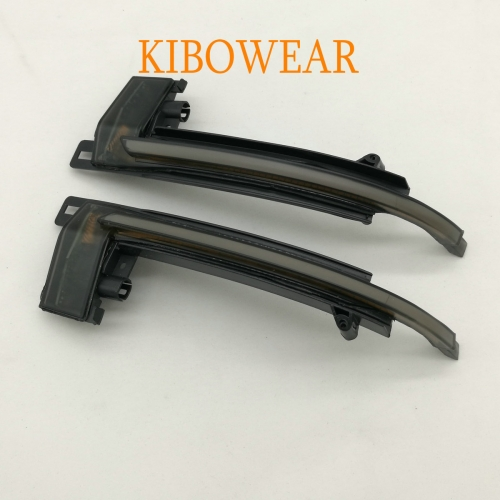 KIBOWEAR Dynamic Blinker Mirror Light for Audi A3 8P A6 C6 4F A4 A5 B8 8K Q3 SQ3 A8 D3 Side LED Turn Signal Indicator
