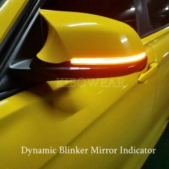 Dynamic LED Mirror Turn Signal blinker BMW F20 F22 F32 F33 F34 X1 E84 indicator light