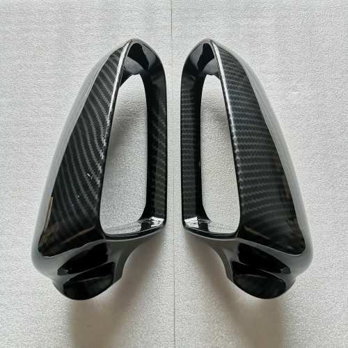 For Audi B7 B8 B8.5 A4 A5 A3 8P A6 C6 C7 Q5 Q7 Side Wing Mirror Caps Covers( Carbon Look) replacement