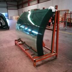 Bent & Curved safety glass