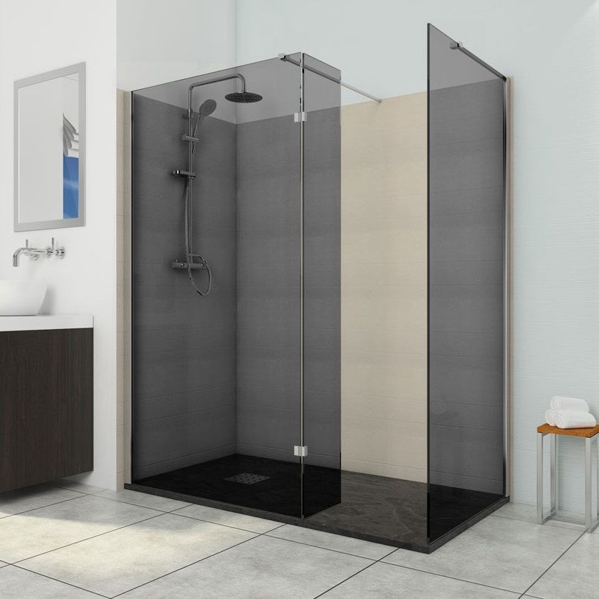 Shower room safety glass