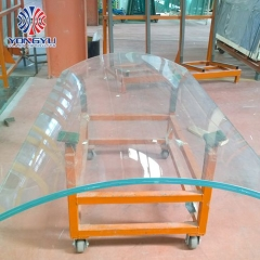 Dupont authorized Flat SGP laminated glass and curved SGP laminated glass