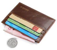 Unique Mens Wallets, Mens Credit Card Holder, Male Leather Wallets