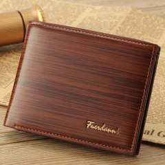 Mens Card Holder Leather Wallets, Money Clip Designer Wallet For Men