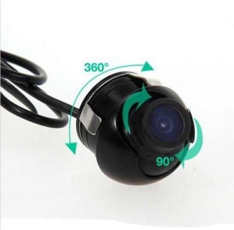 360 degree waterproof rear view camera