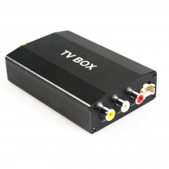 In Auto Digitalen Tv tuner receiver TV-BOX DVB-2T for Autoradio