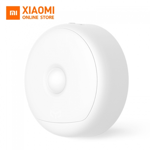 Xiaomi Mijia Yeelight LED Night Light USB Charge Infrared Magnetic With Hooks Remote Body Motion Sensor