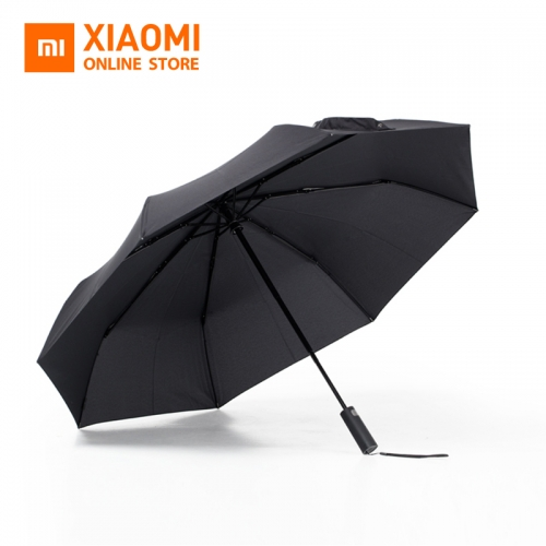 Xiaomi Mijia Automatic Umbrella Three Folding UV Protect Sunny Rainy Umbrella Aluminum Alloy Rain Auto Parasol