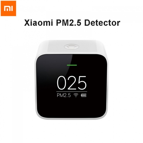 Xiaomi Mi PM2.5 Detector Real Time Air Quality Clock Mode Cute Portable
