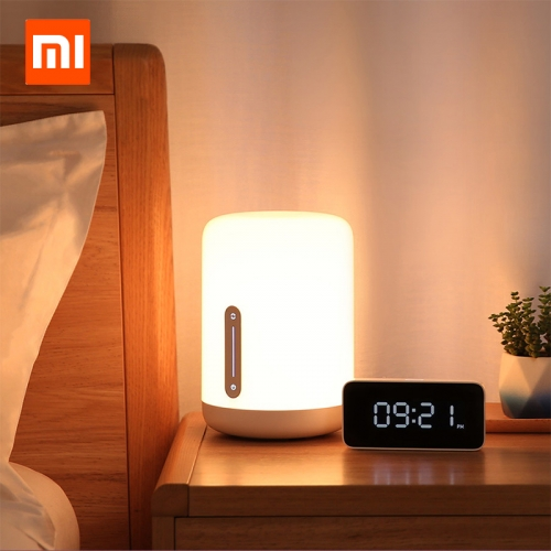 Xiaomi Mijia Bedside Lamp 2 Bluetooth WiFi Connection Touch Panel APP Control Works with Apple HomeKit Siri