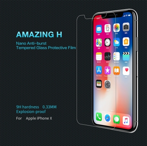 Apple iPhone X H Anti-Explosion Glass Screen Protector