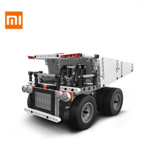Xiaomi Mitu Block Robot Mine Truck For Kids Steering Wheel Control Dump Lift Smart Remote Control