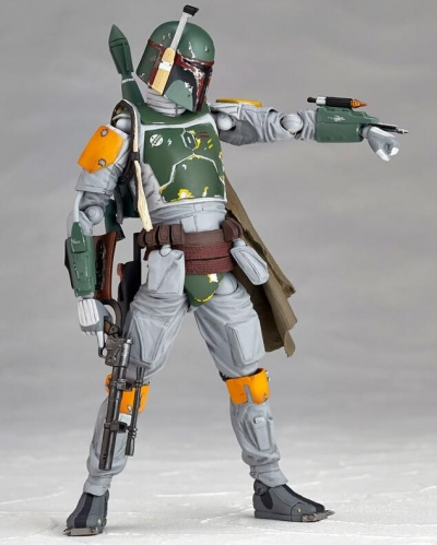 Film and television model Boba Fett Action and Figures Movable Hand Toy
