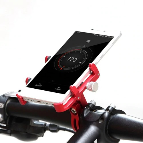 GUB PLUS 6 Electric Scooter Aluminum Alloy Mobile Phone Holder for Motorcycles Bicycle