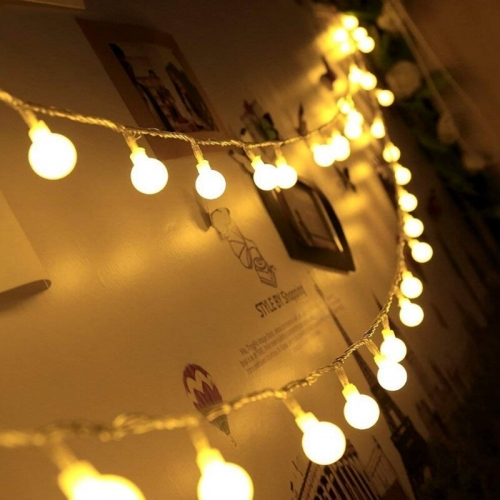 New 1.5m 3m 6m Fairy Garland LED Ball String Lights