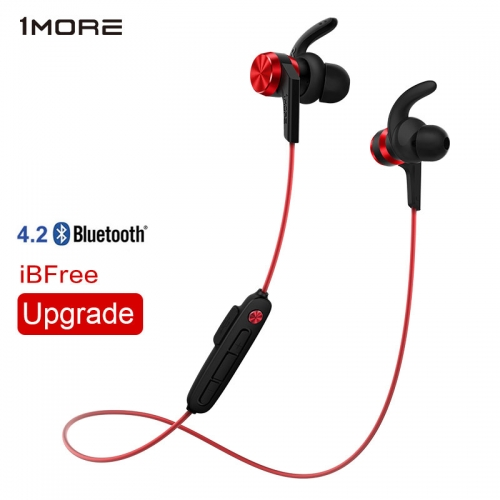 1MORE iBFree Wireless Bluetooth 4.2 In-Ear Earphone IPX6 waterproof Sport Running bluetooth v4.2 Headset Earbud with Mic E1018BT