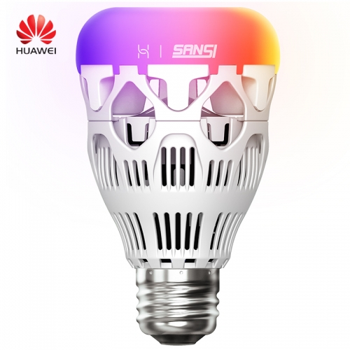 Huawei SANSI Smart LED Bulb Colorful 800 Lumens 10W E27 Lemon Smart Lamp RGB Night Light Huawei Smart Home APP Romote Control