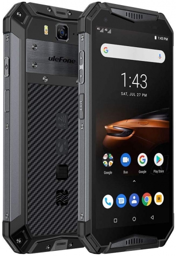 Ulefone Armor 3W IP68 Android 9.0 Helio P70 6G + 64G Smartphone