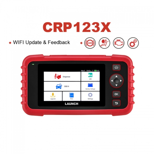 LAUNCH X431 CRP123X OBD2 Scanner Auto Codeleser OBDII Diagnosewerkzeug ENG AT ABS SRS Launch Scanner Auto Automotive Tool