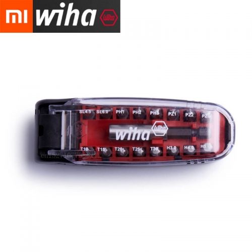 XIAOMI Mijia Wiha 17IN1 Magnetic Wrench Screwdriver Bits Kit Crocodile Mouth Mini Portable Pocket Screwdriver Set Repair Tool
